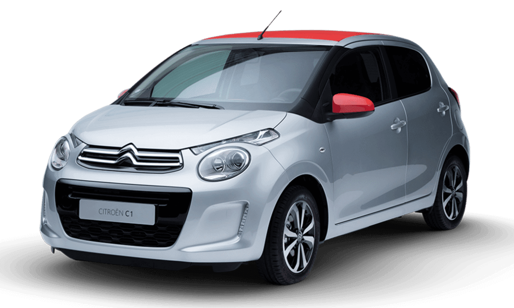 Citroen C1 Open-Top | Dimitris Rent a Car or Moto in Antiparos