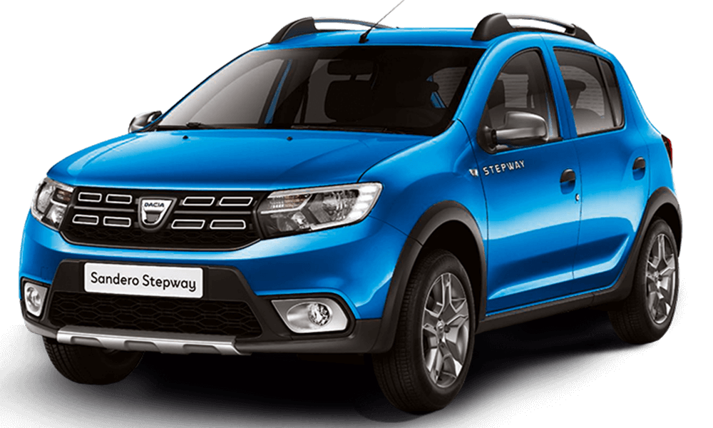Dacia Sandero Stepway | Dimitris Rent a Car or Moto in Antiparos