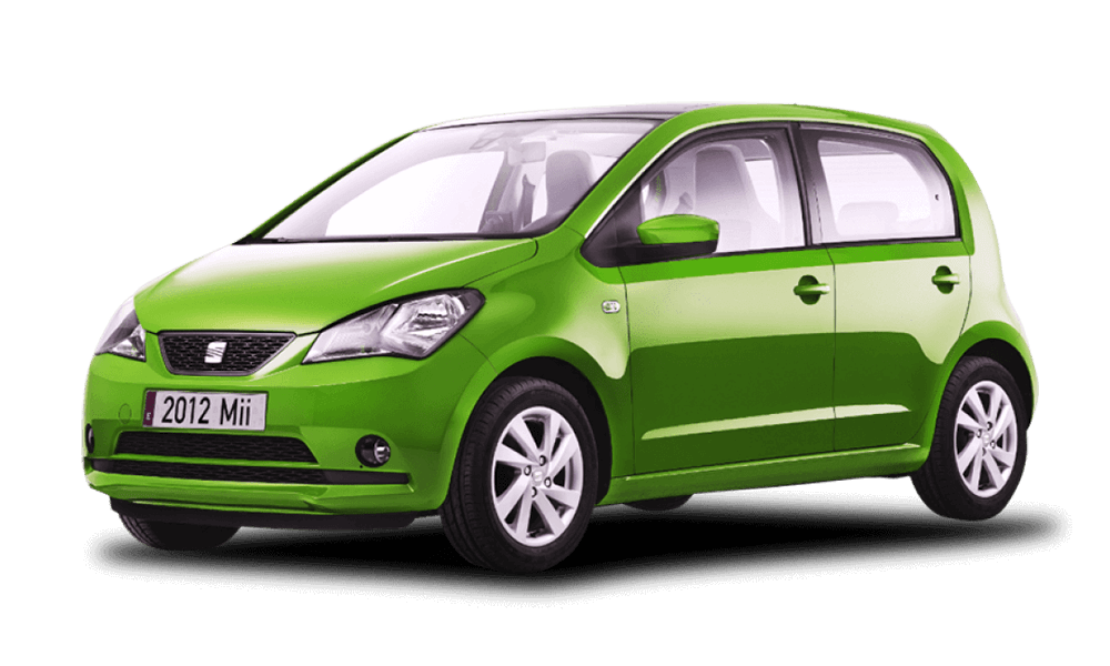 Seat Mii Automatic | Dimitris Rent a Car or Moto in Antiparos