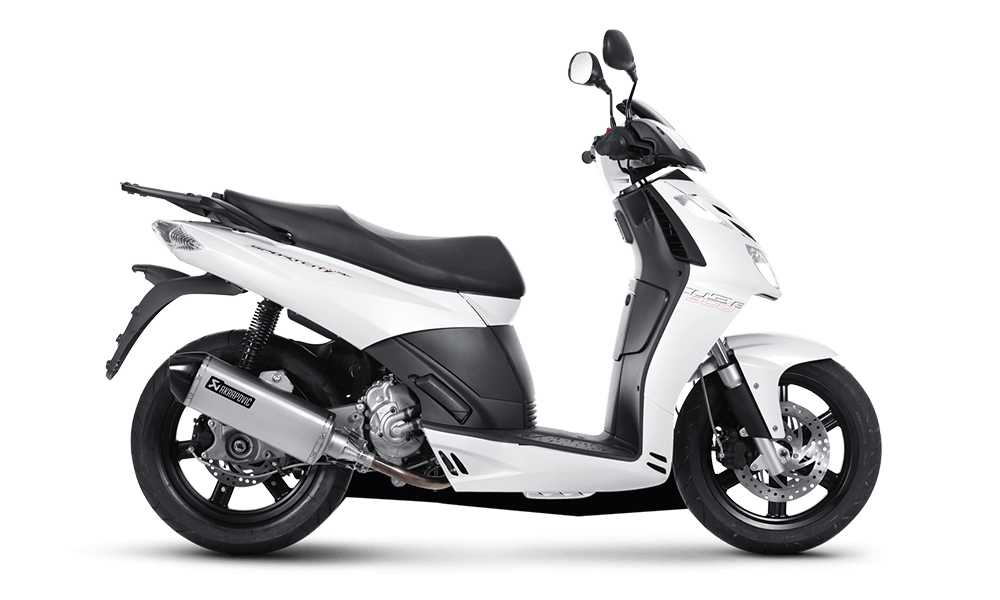 Aprilia Sportcity 50cc | Dimitris Rent a Car or Moto in Antiparos