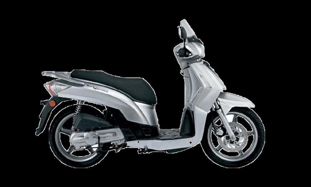Kymco People 50cc   Dimitris Rent a Car or Moto in Antiparos