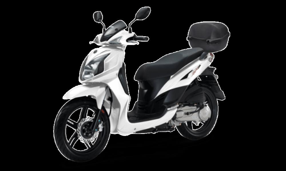 Sym Symphony SR 125cc | Dimitris Rent a Car or Moto in Antiparos