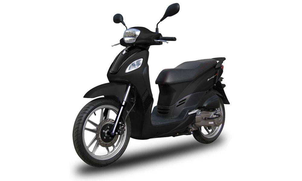 Sym Symphony S50 50cc | Dimitris Rent a Car or Moto in Antiparos